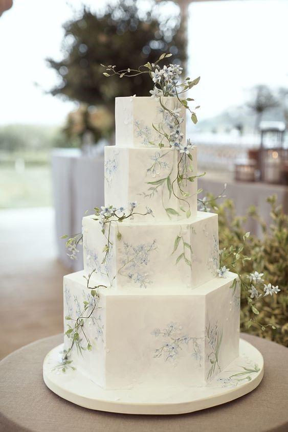 formato bolo casamento